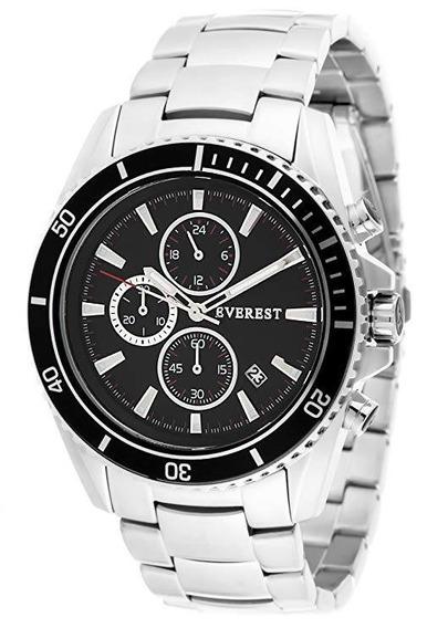 Relógio Everest Es-30094 - Mens Black