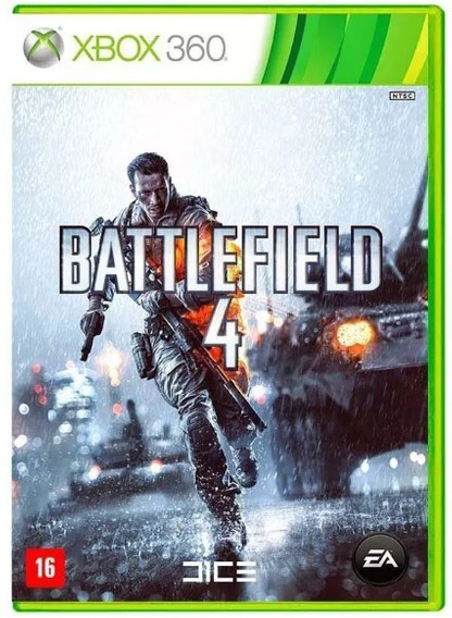 Battlefield 4 Xbox 360 Original 02 Dvds - Frete R$12