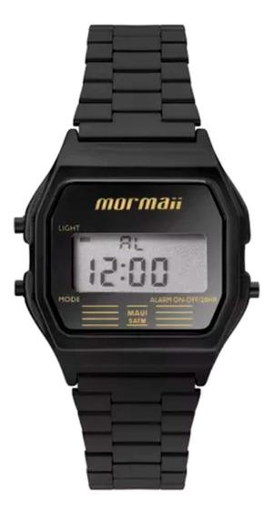 Relógio Mormaii Mojh02aj4p Preto - Cor: Preto - Tamanho: Úni