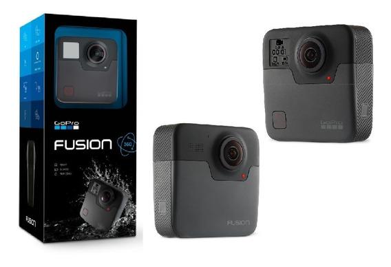 Gopro Fusion 360 Com Controle, Carregador E 2 Baterias