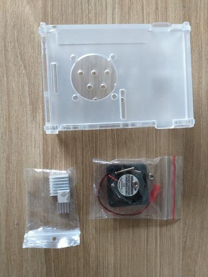 Raspberry Pi 4 B 1gb Ddr4 Fonte Dissipador Case Cooler 32gb