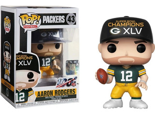 Funko Pop Nfl Football Packers Aaron Rodgers #43