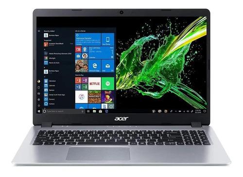 "Notebook Acer Aspire 5 A515-43 silver 15.6"", AMD Ryzen 3 3200U  4GB de RAM 128GB SSD, AMD Radeon Vega 3 1920x1080px Windows 10 Home"