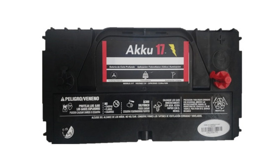 Bateria Solar, Akku17 Tipo Cale O Lth Solar