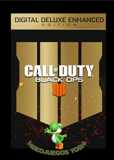 Call Of Duty Black Ops 4 Digital Deluxe Enhanced Xbox One