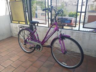 Bicicleta Skinred Koln Rodado 28 Paseo Aluminio C/suspensión