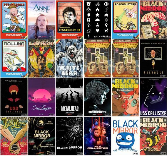 Placa Decorativa A4 Séries Tv Vários Modelos Alta Definição