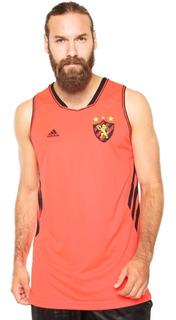 Camisa Regata adidas Basquete Sport Recife 2 - Laranja