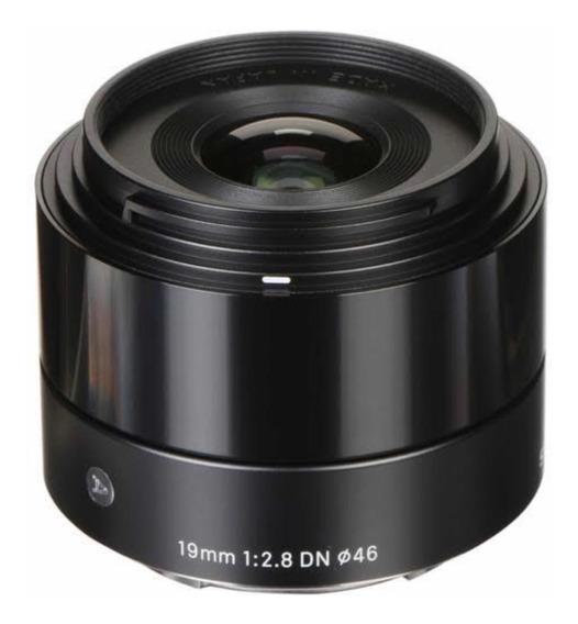 Sigma 19mm F/2.8 Sony
