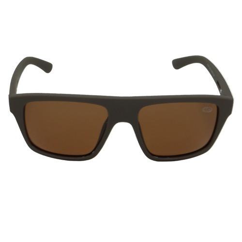 Óculos De Sol Quadrado Marrom Geror 02588 Desconto 30%