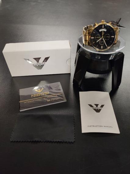 Relógio Nibosi Cronógrafo Original Modelo 2309