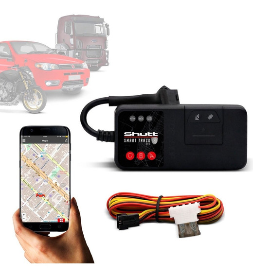 Rastreador Bloqueador Automotivo Gprs Android E Ios Shutt