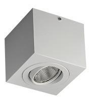 Spot Plafon Sobrepor 1 Par20 Branco C/ Lamp. 7w Branco Quent