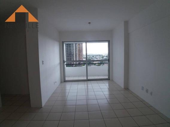 Apartamento Com 2 Quartos Para Alugar, 60 M² Por R$ 1.000/mês - Boa Viagem - Recife/pe - Ap1488