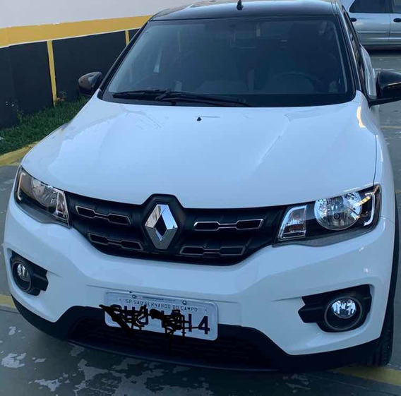 Renault Kwid 1.0 12v Intense Sce 5p 2018 Com Teto Preto