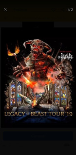 1 Entrada Cancha Monster Energy Beast Zone Estadio Nacional