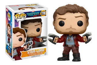 Funko Pop Star Lord Y Rocket Guardianes De La Galaxia