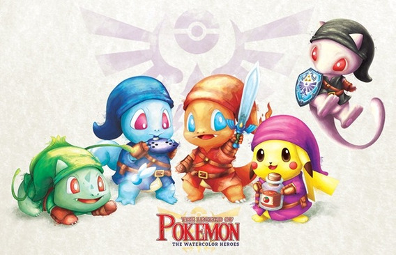 Pokemon E The Legend Of Zelda Juntos - Exclusivos 26 Cards