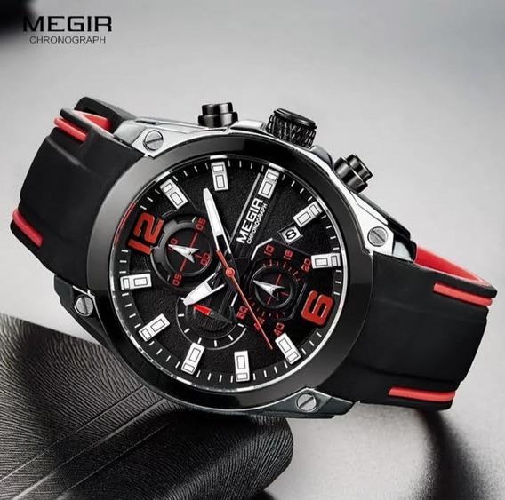 Relógio Esportivo Original Megir 2063 | Envio Imediato!
