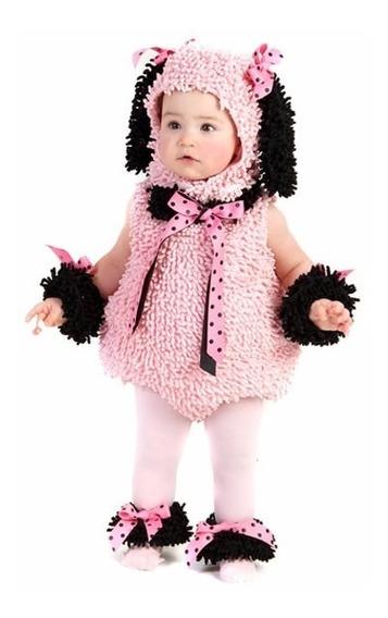 Fantasia Poodle Meninas 18 A 24 Meses, Usada Apenas Duas Vzs