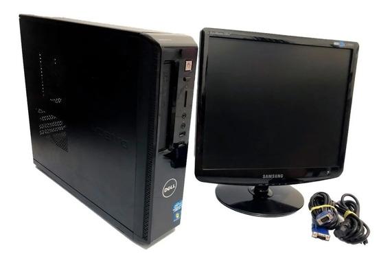 Cpu-dell Vostro I3-2120, 4 Gb Memoria, Hd 320 Gb + Monitor