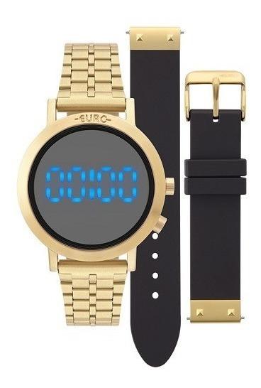Relógio Euro Feminino Dourado Fashion Fit Eubj3407aa/t4p
