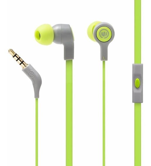 Audifonos Wicked Audio Jekyll Swamp Thing Con Micròfono