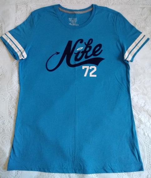 Blusa Camiseta Feminina Nike Original Manga Curta