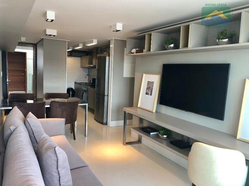 Imagem 1 de 15 de Apartamento Beiramar Mobiliado  À Venda Ou Locação - Praia De Tambaú - João Pessoa - Pb - Ap1324
