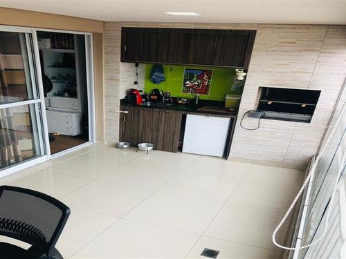 Imagem 1 de 30 de Ótimo Apartamento Com 79 M², Sacada Gourmet, 3 Dormitórios Sendo 1 Suíte 2 Vagas Fixas. - 14589