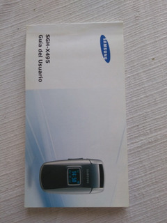 Manual Samsung Sgh-x495