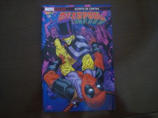 Hq Deadpool 26 - Acerto De Contas Marvel Legado Panini