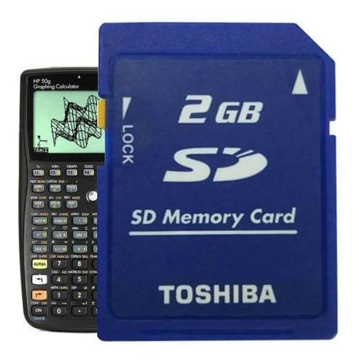 Cartão De Memória Sd Secure Digital 2gb / Hp 50g / R022 T