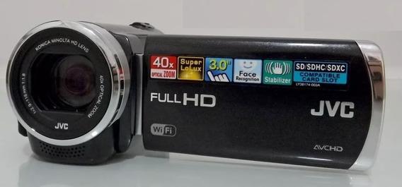 Filmadora Jvc Gz-ex210 Full Hd Wifi Zoom Ópico 40x Lcd 3