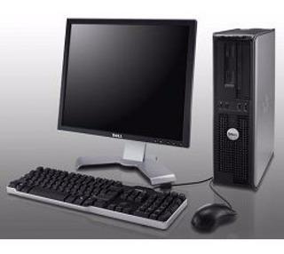 Computadoras Completas Core2duo Dell, Hp 4gb Ram, Lcd 19