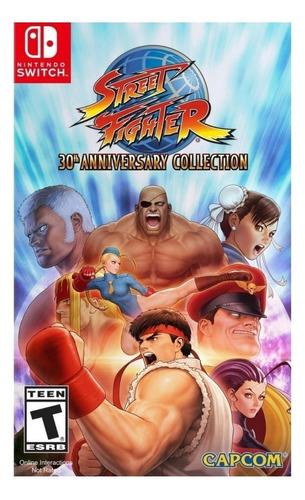 Imagen 1 de 5 de Street Fighter 30th Anniversary Collection Standard Edition Capcom Nintendo Switch  Digital