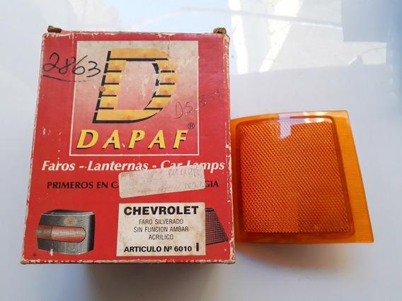 Pisca Seta Refletor Dianteiro Le Ambar Silverado 97/..(dapaf