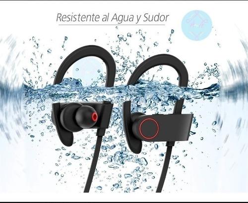 Audifonos Bluetooth Resiste Sudor Aguae Inhibición Bacterial