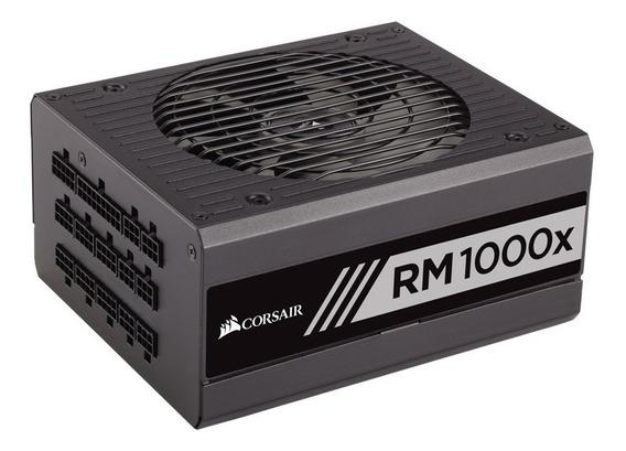 Fonte Corsair 1000w 80 Plus Gold Rm1000x Totalmente Modular