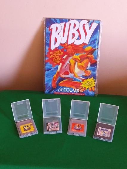 Nintendo Game Boy Pokémon Cristal,red.,silver E Amarela .