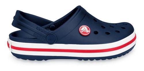 Imagen 1 de 9 de Crocs Originales Crocband Azul Nene Nena