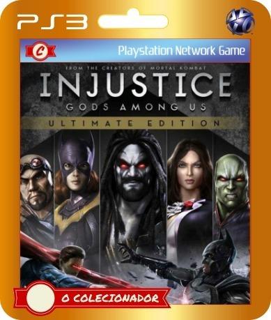 Promoção! Injustice Ultimate Edition Ps3