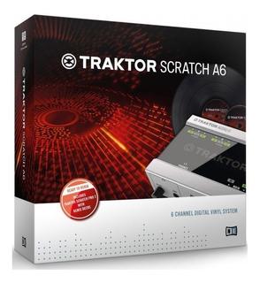 Native Instruments Traktor Scratch A6 Placa Audio Dvs Serato