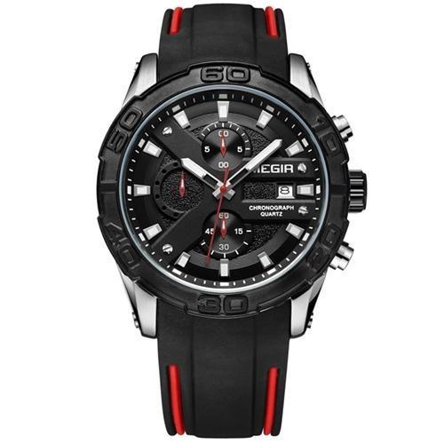 Relógio Megir Racing 2055 - Pulseira Silicone