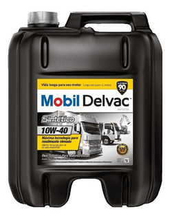 Aceite Mobil Delvac Xhp Extra 10w40 X 20 L Mercedes Benz