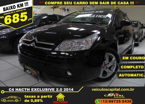 Imagem 1 de 13 de Citroen C4 Hatch Exclusive 2.0 Aut. Flex 16v 4p