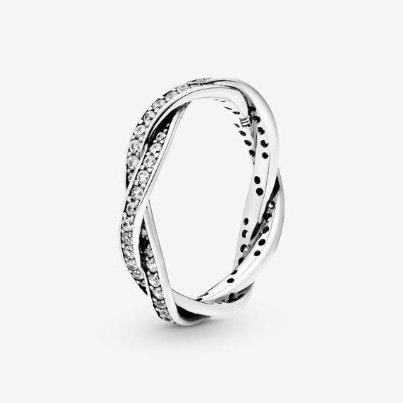 Anillo Tipo Pandora Para Dama En Plata Ley 925 # 7, 8 Y 9