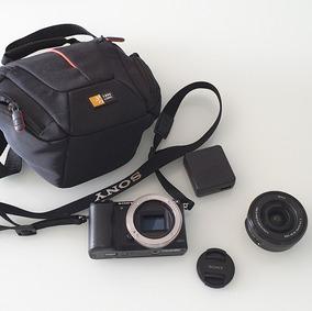Camera Sony Alpha A5000 20.1mp Full Hd+ Lente 16-50 Mm +case