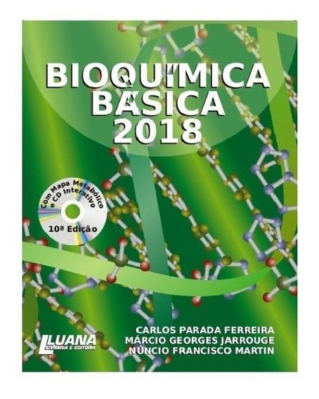 Bioquimica Básica 2018 - Com Mapa Metebólico E Cd Interativo