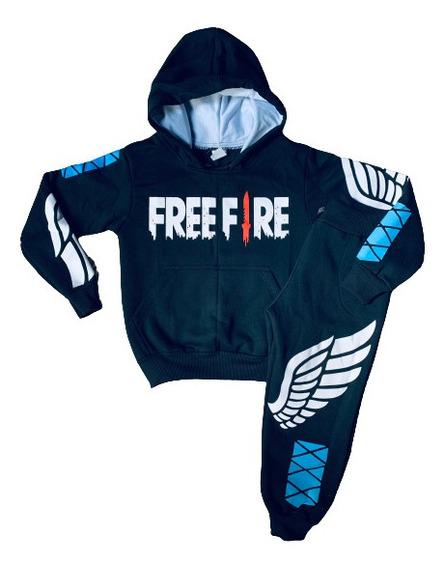 Moletom Free Fire Conjuntos Infantis Mercadolivre Com Br